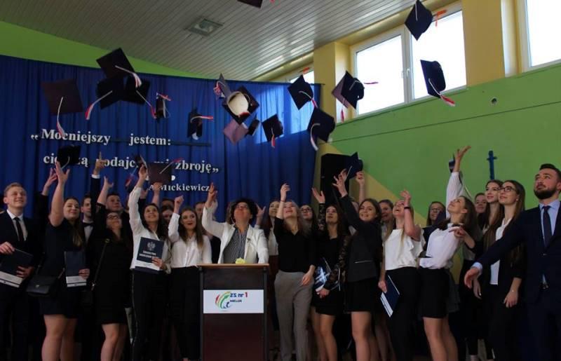 Pożegnanie klas maturalnych 2019