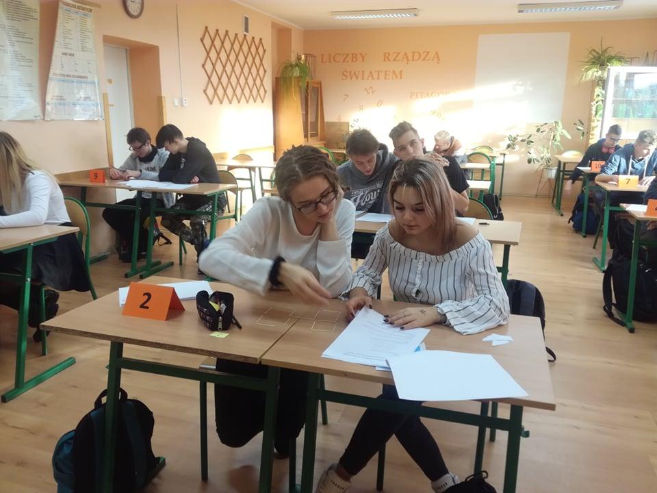 Konkurs matematyczny dla szkoły branżowej I stopnia