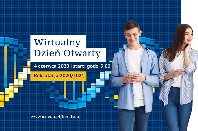 Wirtualny Dzień Otwarty na Uniwersytecie Śląskim