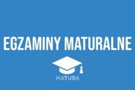 Harmonogram egzaminów maturalnych w Zespole Szkół nr 1 w Wieluniu