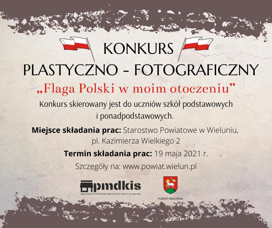"""Konkurs """"Flaga Polski w moim otoczeniu"""""""