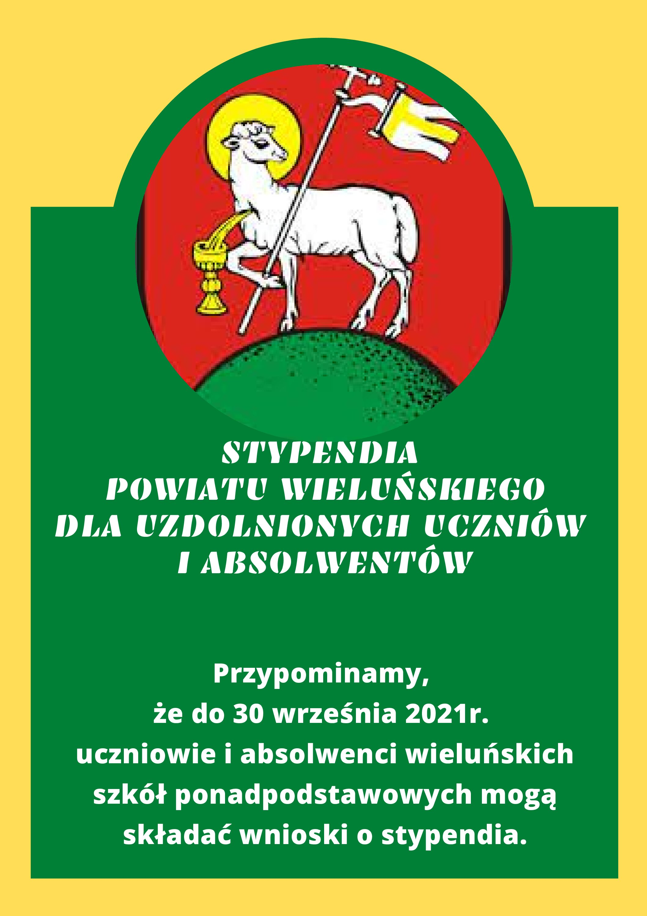 Stypendia Powiatu Wieluńskiego